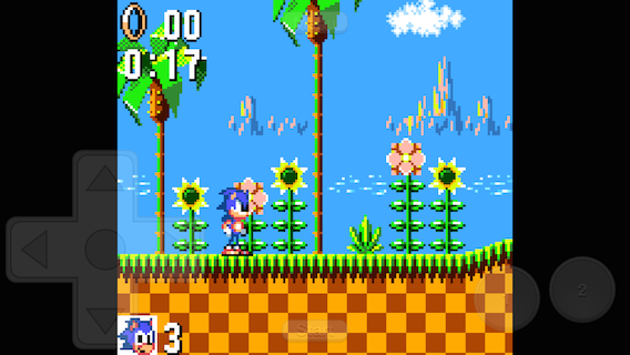 Provenance running Sonic The Hedgehog